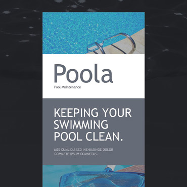 Pool Cleaning Responsive Newsletter Template