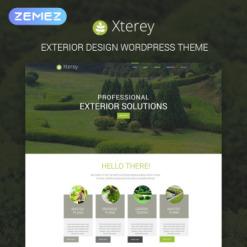 Responsives WordPress Theme für Außendesign