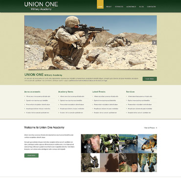 Military School Responsive WordPress Theme