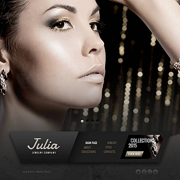 Jewelry Moto CMS HTML Template