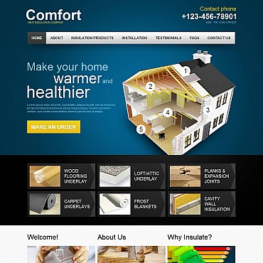 Home Repairs Moto CMS HTML Template