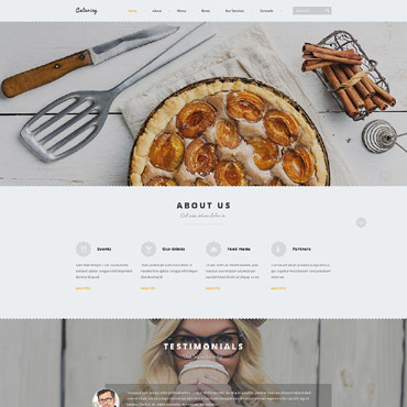 Catering Joomla Template #53654