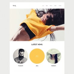 Model Agency Muse Template