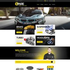 Auto Parts Responsive VirtueMart Template