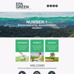Environmental Responsive Newsletter Template