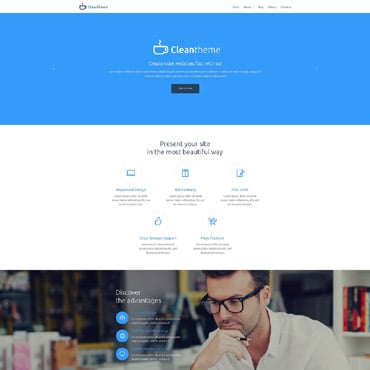 Business Responsive Drupal Template