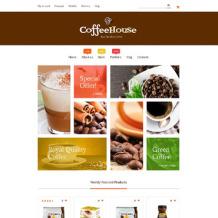 Coffee Shop Responsive WooCommerce Theme