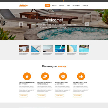 Pool Cleaning Muse Template