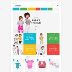 Baby Store Responsive PrestaShop Theme