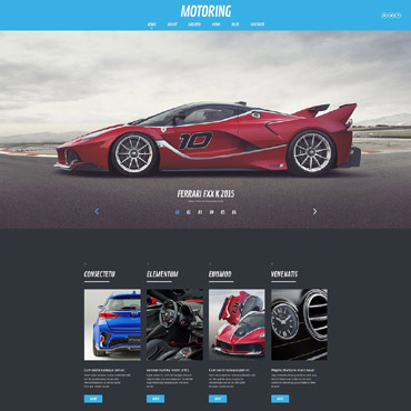 Car Responsive WordPress Theme