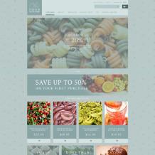 Food Store Responsive ZenCart Template
