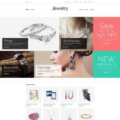 Jewelry Responsive VirtueMart Template