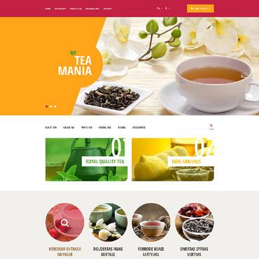Tea Shop Responsive OpenCart Template