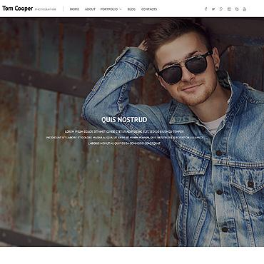 theme WordPress Online Portfolio