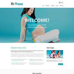 Reproduction Clinic Responsive WordPress Theme