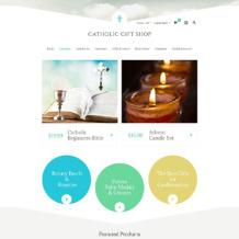 Catholic Church OsCommerce Template