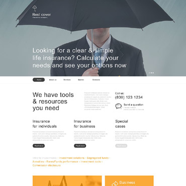 Insurance Muse Template