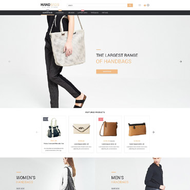 Stylish Bags Boutique Magento Theme #53982