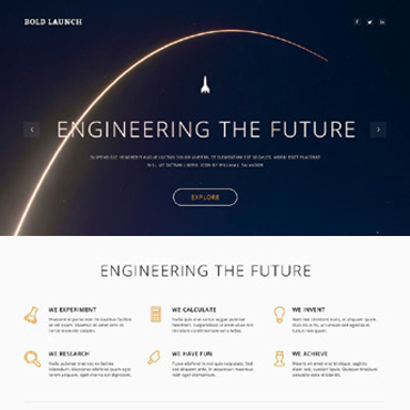 Science Responsive WordPress Theme