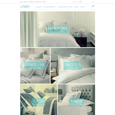 Linen & Lace Responsive OpenCart Template