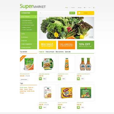 Food Store Responsive PrestaShop Theme