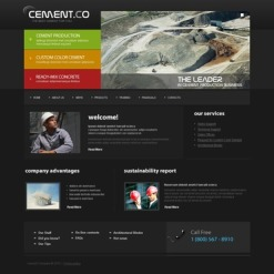 Cement PSD Template