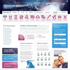Astrology PSD Template