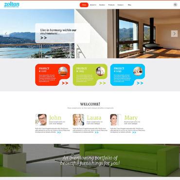 Interior & Furniture Responsive WordPress Theme