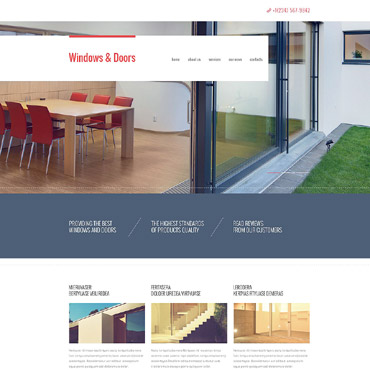 Window Decor Responsive Website Template