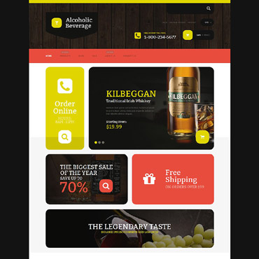 Food & Drink Responsive Shopify Theme