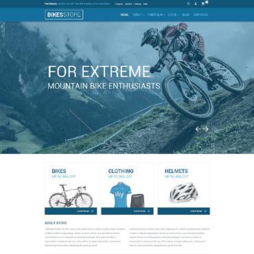Bike Shop Responsive WooCommerce Theme