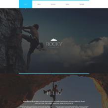 Climbing Responsive Website Template
