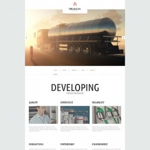 Gas & Oil Moto CMS HTML Template