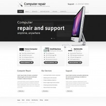 Computer Repair Moto CMS HTML Template