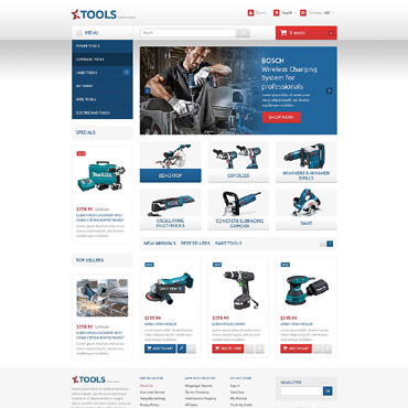 Tools and Equipment PrestaShop Theme #54798