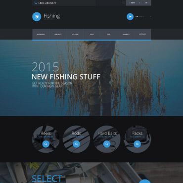 Fishing Responsive PrestaShop Theme