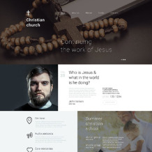 Christian Responsive Drupal Template