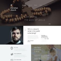 Christian Responsive Drupal Template