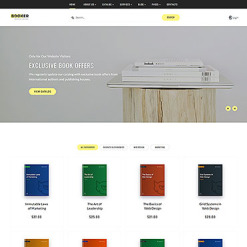 Books Responsive Website Template