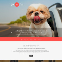 Taxi Responsive Website Template