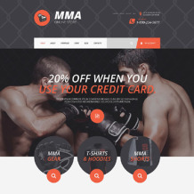 Martial Arts Responsive WooCommerce Theme