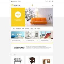 Interior & Furniture Responsive VirtueMart Template