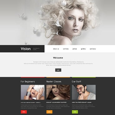 Beauty School Muse Template