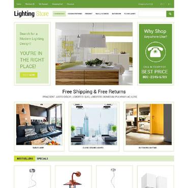 Lightning Store OpenCart Template #54954