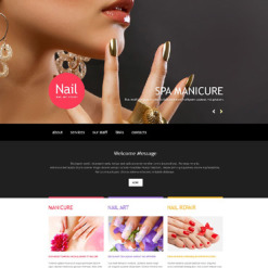 Nail Salon Muse Template