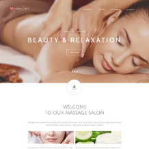 Massage Salon Responsive Joomla Template
