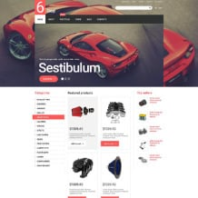 Auto Parts Responsive WooCommerce Theme