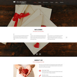St. Valentine Responsive Website Template
