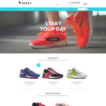 Shoe Store Responsive PrestaShop Theme