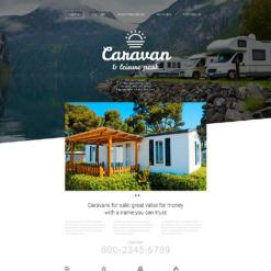 Summer Camp Responsive Website Template